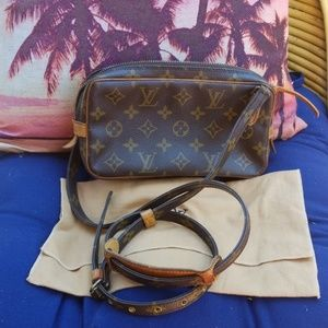 Authentic Louis Vuitton Marley bandouliere bag